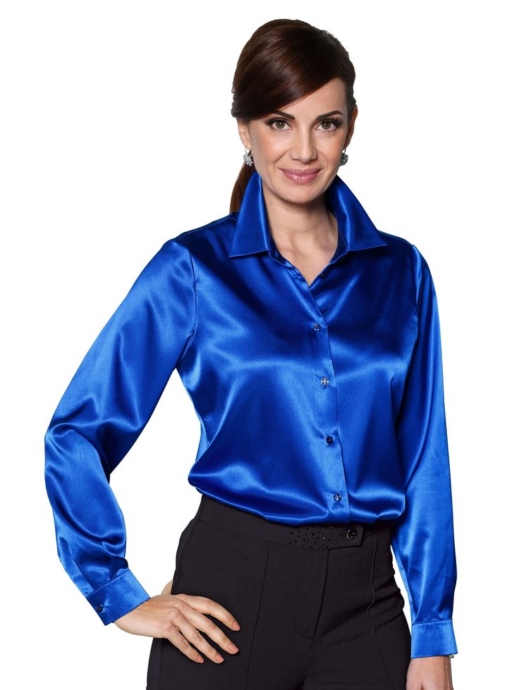 87 Best Images About Satin Blouses On Pinterest Satin