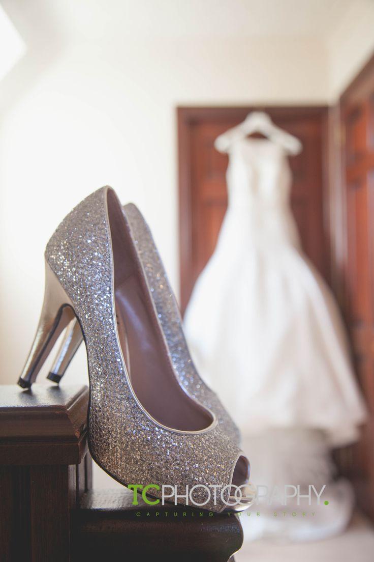 """its all about the shoes"" #wedding #shoes #bride #dress #preparations #sparkle #lisburn #belfast #montalto #tcphotoni"