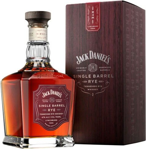 Bottled at 94 proof, Jack Daniel Distillery Single Barrel Rye Whiskey has an aroma of apples, plums and ripe fruit mingled with charred oak. Notes of butterscotch and caramel on the palate give way to a pleasant, peppery spice, which fades on the finish to reveal notes of vanilla bean and fresh maple.