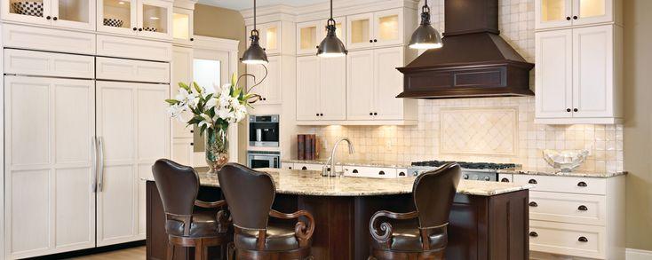 Traditional Kitchens Hanover Maple Sienna Eggshell Kitchen Bath