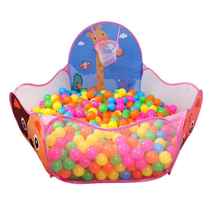 2016 New Large Portable Foldable Children Kids Pop Up Adventure Ocean Ball Play Tent Indoor Outdoor Playhouse Kids Tent