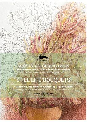 Pepin Press Colouring Book - Still Life Bouquets