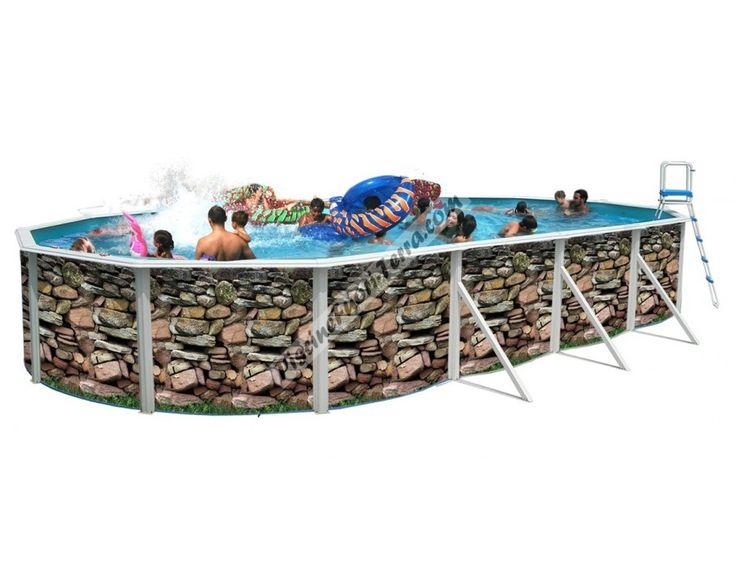 Oltre 25 fantastiche idee su piscine fuori terra su - Piscina fuori terra costi ...