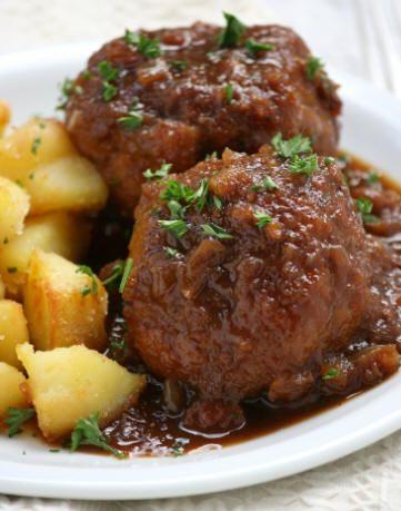 recettes: Plat principal: Boulets sauce lapin de Liège