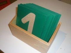 - Montessori Materialien selbstgemacht