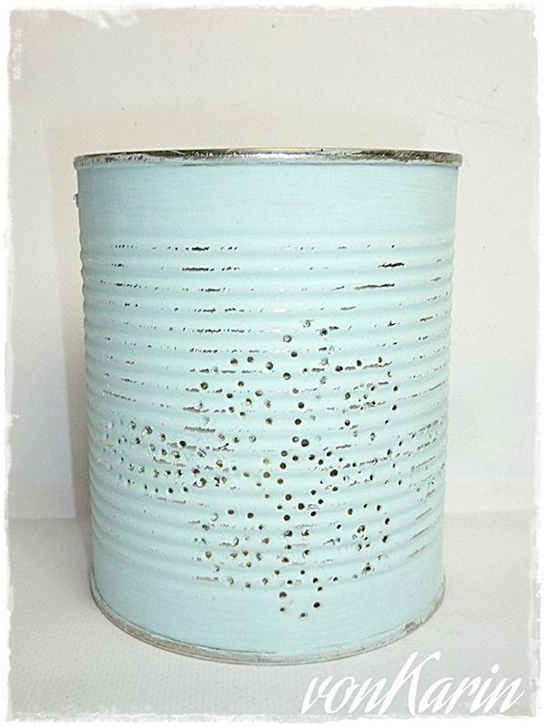 DIY ... alles vonKarin : Upcycling: Leuchtdosen in Pastell