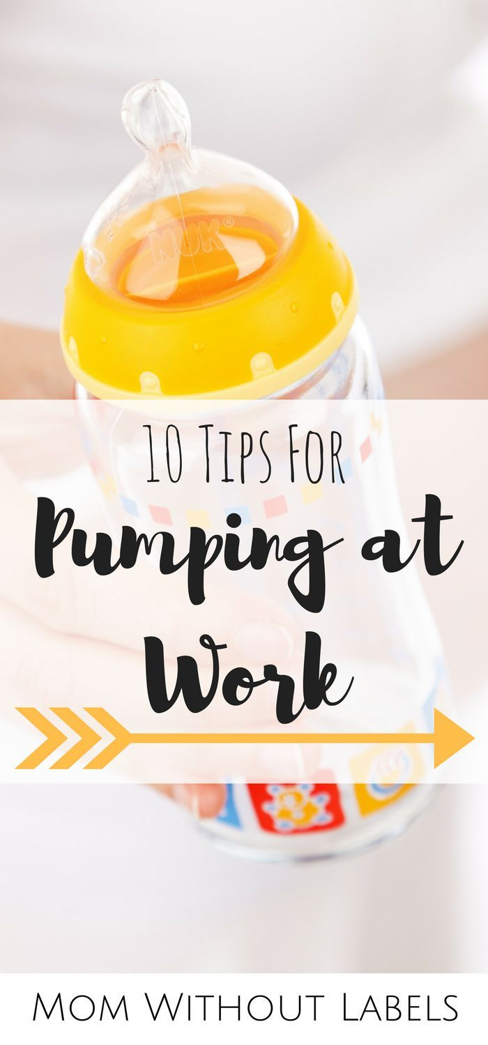 10 Tips for Pumping at Work | Going back to work after maternity leave? In a pumping and/or breastfeeding rut? READ THESE TIPS! Great advice from a pumping mom.