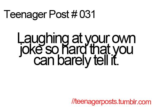 And then your friend doesn't think it's funny. Yes, this has happened.<<<< Or they find your reaction to your own home funnier