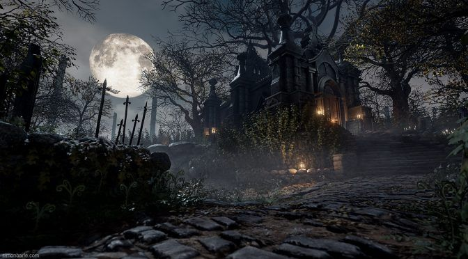 EA DICE Environment Artist Recreates Bloodborne's Environment In Unreal Engine 4 | DSOGaming | The Dark Side Of Gaming
