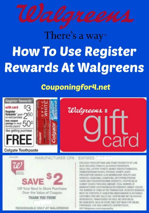 How To Use Register Rewards At Walgreens - answer all your couponing questions about saving money with Register Rewards at Walgreens!