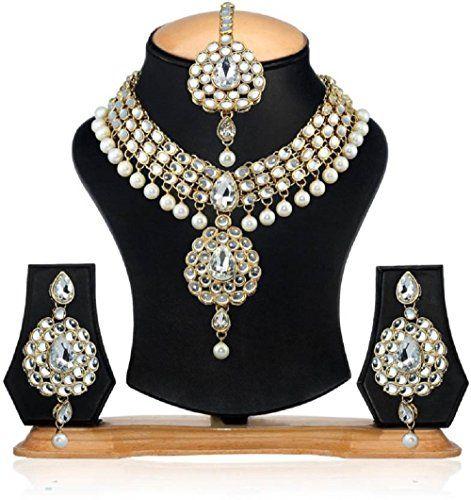 Indian Bollywood Dazzling Gold Plated White Pearls Party ... https://www.amazon.com/dp/B01N9ZUJN6/ref=cm_sw_r_pi_dp_x_mHNWybT2M2WF3