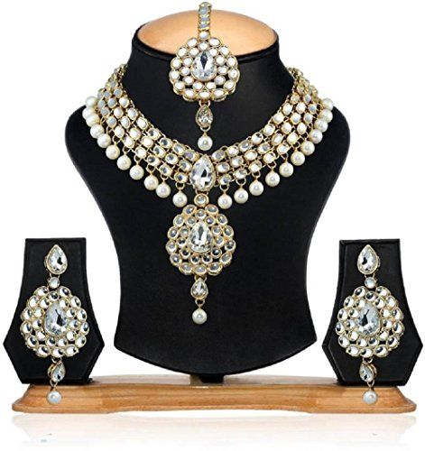 Indian Bollywood Gold Plated White Stone Pearls Tradition... https://www.amazon.com/dp/B01MUD3NMC/ref=cm_sw_r_pi_dp_x_ll.Pyb9YRWYGH