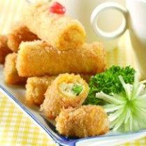 Rissoles wortel keju
