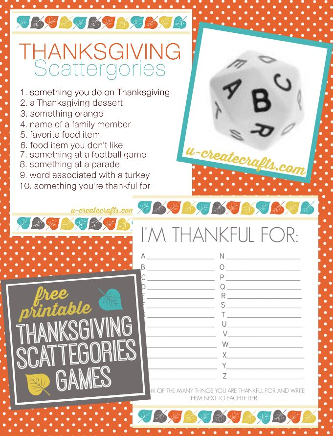 Ideas about thanksgiving games on pinterest
