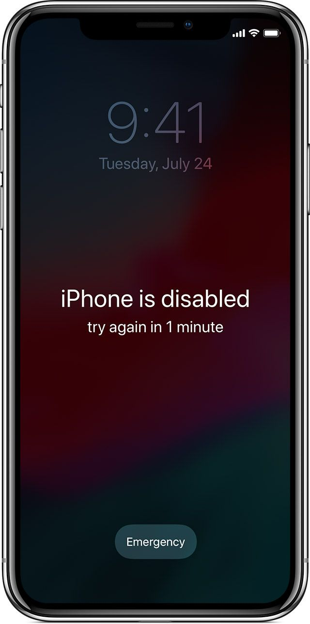 If You Forgot The Passcode For Your Iphone Ipad Or Ipod Touch Or Your Device Is Disabled Unlock My Iphone Unlock Iphone Ipod Touch