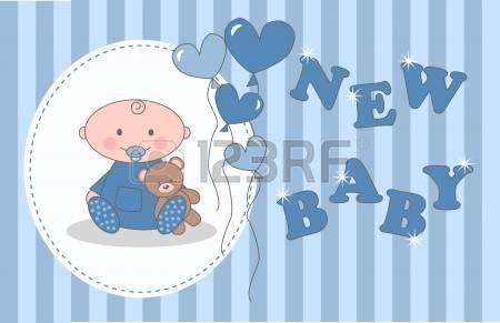 bebe recien nacido dibujo: baby shower o cumpleaños