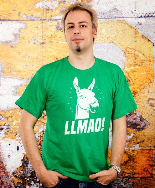 funny llama tshirt lmao tshirt hilarious tee boyfriend by store365