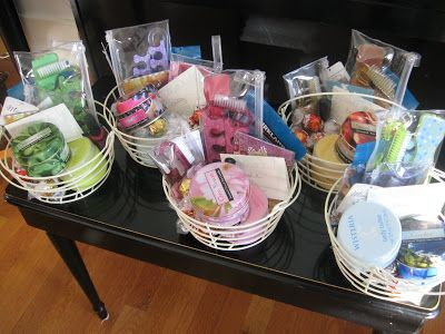 38 best easter baskets with a spa twist images on pinterest easter love these little wire baskets with pedicure and bath treats negle Image collections