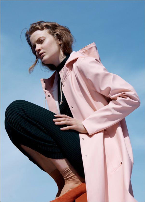 Stutterheim soft pink raincoat @wendelavandijk_shop