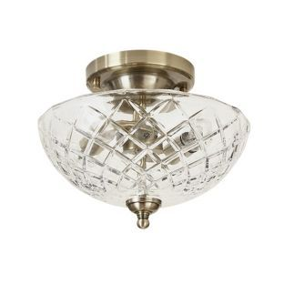 Buy Heart of House Russet Cut Glass Flush Light Fitting at Argos.co.uk, visit Argos.co.uk to shop online for Ceiling and wall lights