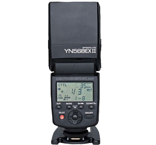 yongnuo 568 ex II | Yongnuo officially announces YN568EX II, first master-enabled flashgun ...