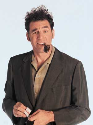 Cosmo Kramer: for me, the best character ever!
