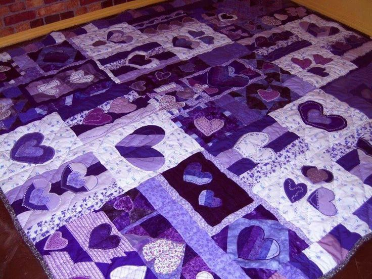 181 Best Purple Quilts Images On Pinterest Purple Quilts