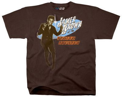 Tshirt:Soul-James Brown Live At The Apollo