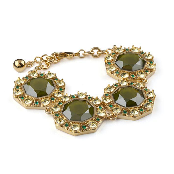 Lolu Rhoda Octarine Bracelet in Green