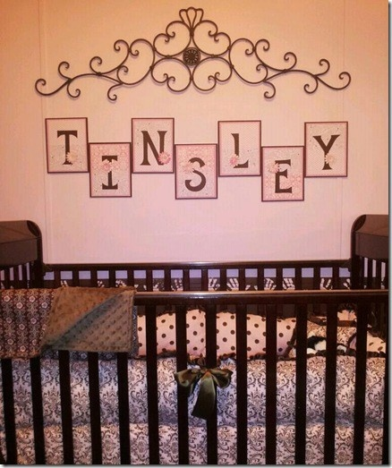 DIY Nursery Letters