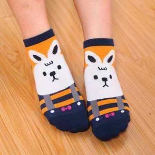 Animal-Print Socks Set from #YesStyle <3 Cuteberry YesStyle.com