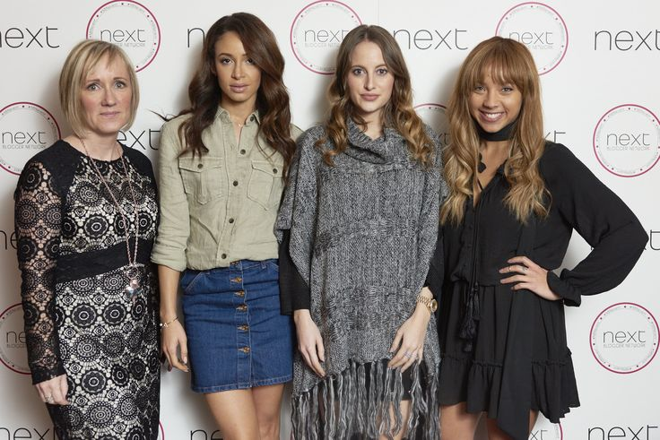 The lovely panel at November's Next Blogger Network event @ The Soho Hotel! Jen Stanbrook from 'Love Chic Living', Danielle Peazer from 'Idle Lane' Rosie Fortescue from 'At Fashion Forte' and the gorgeous Samantha Maria! #NBN
