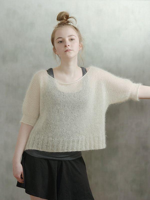 Тонкий пуловер оверсайз Pappus Дизайнер Midori.