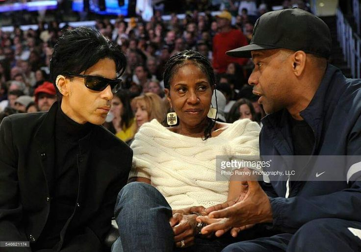 December 25th 2008 with Denzel Washington and his wife pauletta