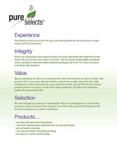 Pure Selects Conditioning Shampoo Concentrate • 1 Quart of Concentrate makes 1 Gallon of Luxurious Conditioning Shampoo • HYPOALLERGENIC • All Natural • NO ANIMAL TESTING ** Click image for more details. #haircolor