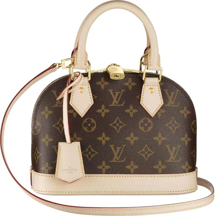 A Smaller Version Of Louis Vuitton Icon The Alma Bb Monogram Brings Sophistication To Both Day And Evening In Elegant Canvas With