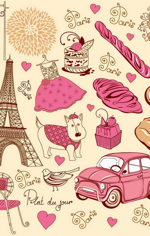 I Love Paris Wallpaper cartoon : #iphone4 #iphonewallpaper #paris Fondos Pantalla Pinterest Royalty free stock photos ...