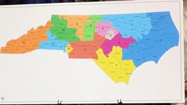 Via @WRAL: Group shows way to drawing voting districts without partisan…