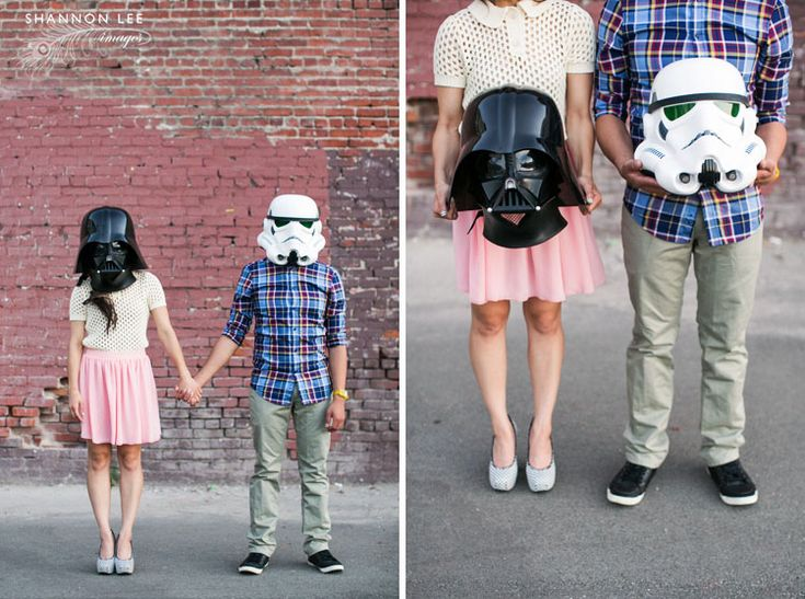 star wars engagement photography
