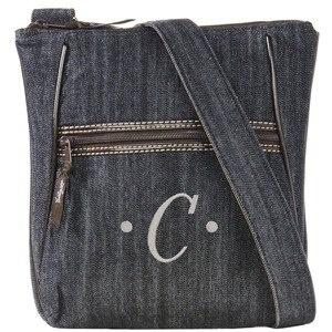Denim Organizing Shoulder Bag