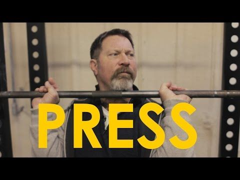 ▶ How to Overhead Press With Mark Rippetoe | The Art of Manliness - YouTube