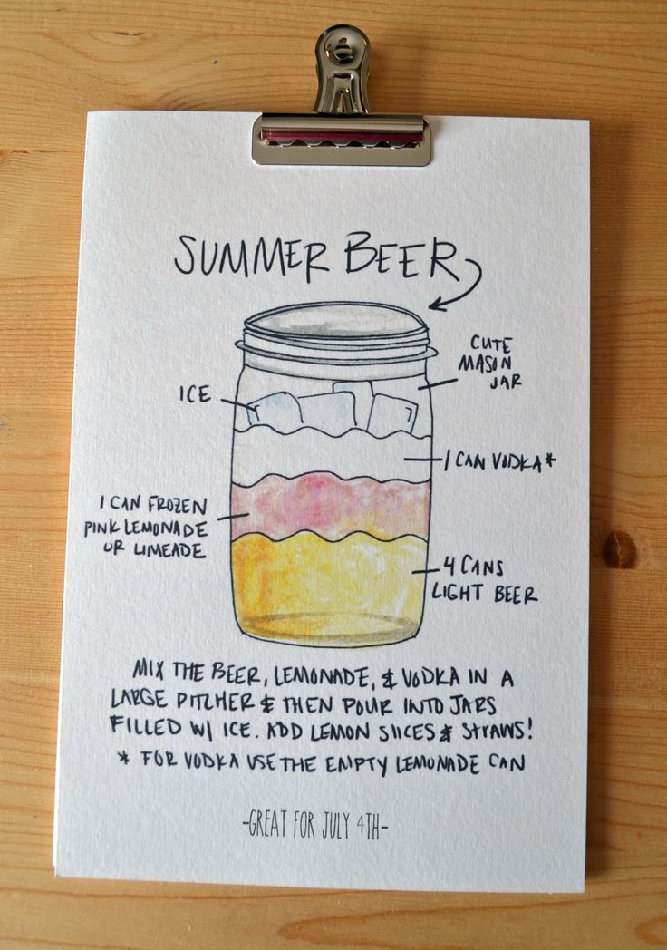 We had a patio party last weekend and made a couple of pitchers of summer beer. This really is a great summer cocktail! Easy to make and very refreshing! But be careful…it is potent! To make …