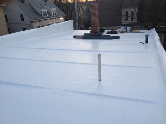 Fully Adhered TPO Roofing Systems