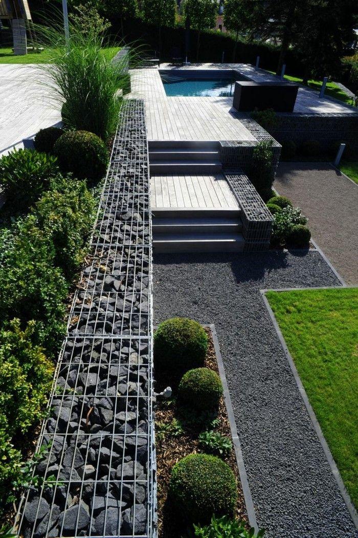 Awesome Steingarten Mit Springbrunnen Images Home Design Ideas