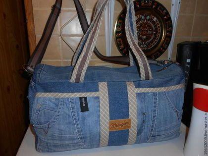 """Купить Сумка """"Зовет меня дорога.."""" - васильковый, дорожная сумка, спортивная сумка"""