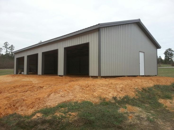 30x50x10 Post Frame Building : Best images about barns on pinterest hay feeder
