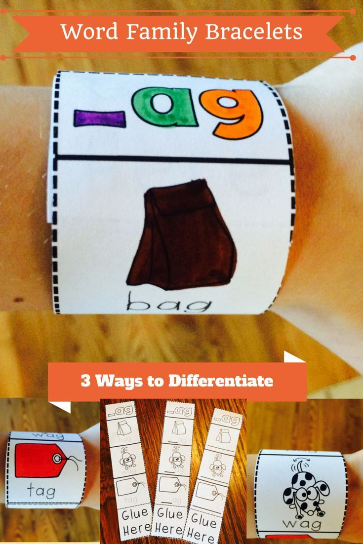 Need a fun and easy way to differentiate your phonics instruction? Want to have something the students can wear and be reminded of the day's lesson once they were home? Reading bracelets can make learning way cool and fun all while giving students tangibl