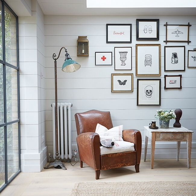 High Quality Bright Sitting Room Love The Gallery Picture Wall. Pictures