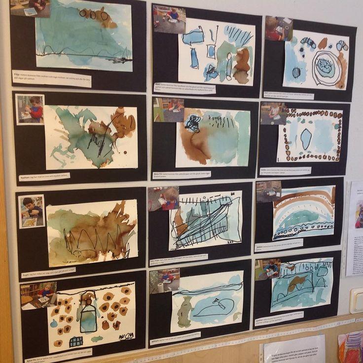 """51 gilla-markeringar, 8 kommentarer - Evelina Weckström (@inspirerande_larmiljoer) på Instagram: """"Hur visar vi att vi lägger ett värde i barnens alster? #ateljé #förskola #lärmiljöer #inspiration…"""""""