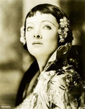 "Myrna Loy publicity still for ""Mask of Fu Manchu"", 1932 by guida"